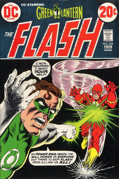 Cover for The Flash (DC, 1959 series) #222
