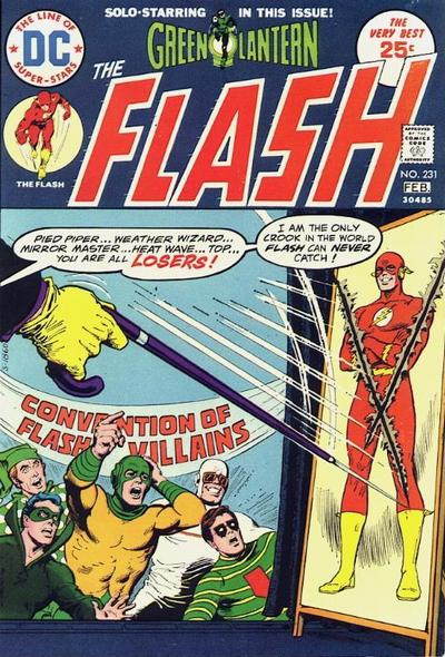 Cover for The Flash (DC, 1959 series) #231