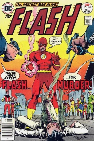Cover for The Flash (DC, 1959 series) #246