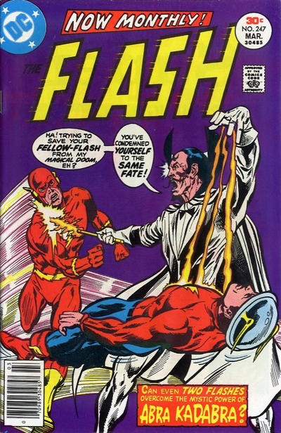 Cover for The Flash (DC, 1959 series) #247