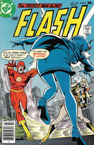 Cover for The Flash (DC, 1959 series) #251