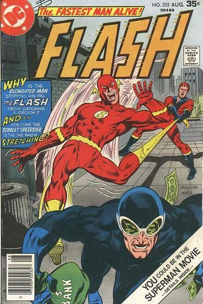 Cover for The Flash (DC, 1959 series) #252