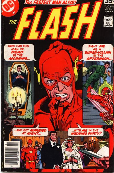 Cover for The Flash (DC, 1959 series) #260