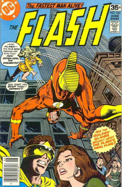 Cover for The Flash (DC, 1959 series) #262 [British]