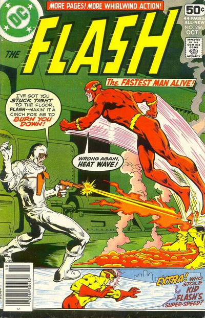 Cover for The Flash (DC, 1959 series) #266
