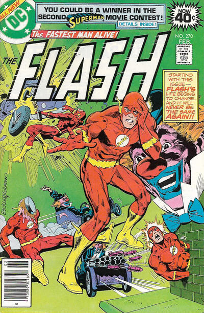 Cover for The Flash (DC, 1959 series) #270