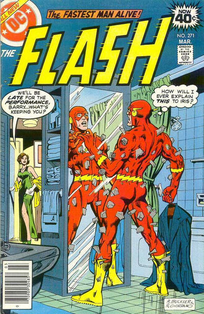 Cover for The Flash (DC, 1959 series) #271