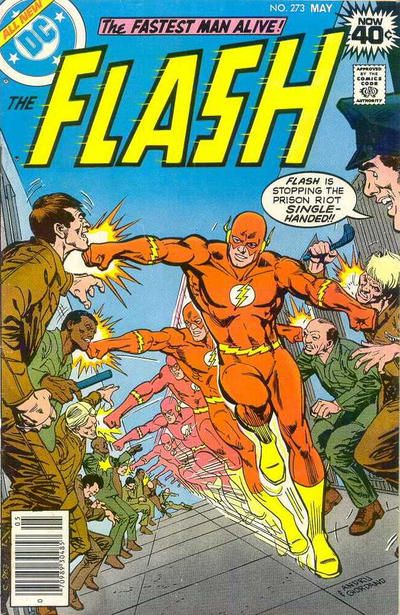 Cover for The Flash (DC, 1959 series) #273 [British]