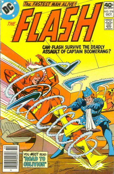 Cover for The Flash (DC, 1959 series) #278
