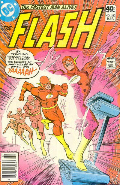 Cover for The Flash (DC, 1959 series) #283 [Whitman cover]