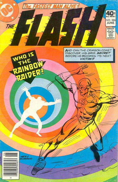 Cover for The Flash (DC, 1959 series) #286
