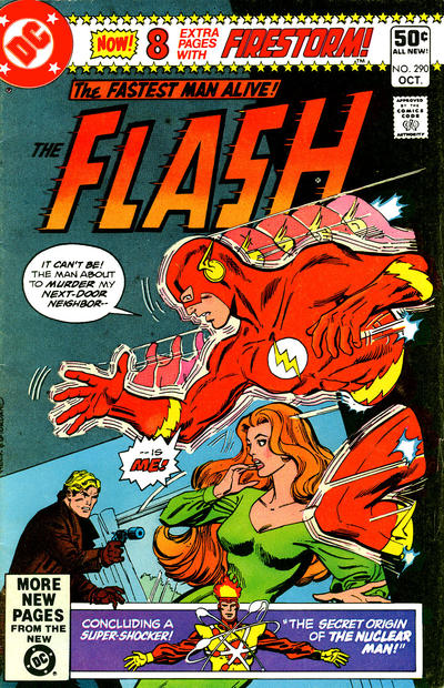 Cover for The Flash (DC, 1959 series) #290 [Newsstand]