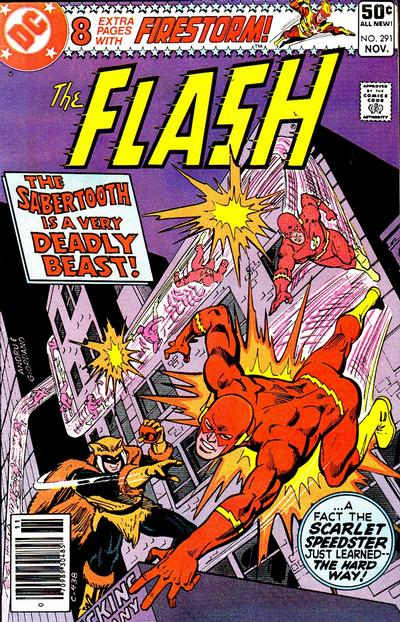 Cover for The Flash (DC, 1959 series) #291 [Newsstand Edition]