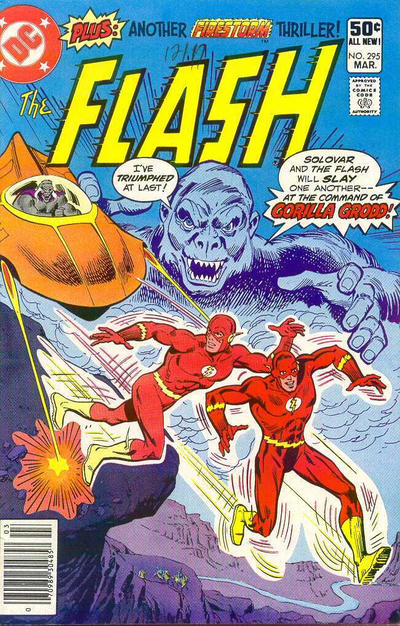 Cover for The Flash (DC, 1959 series) #295 [Direct Sales]