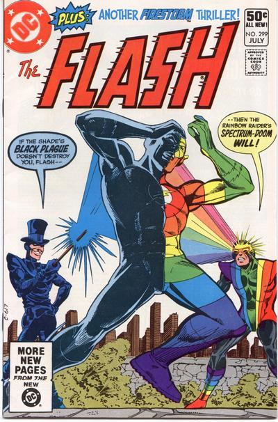 Cover for The Flash (DC, 1959 series) #299 [Direct Sales]