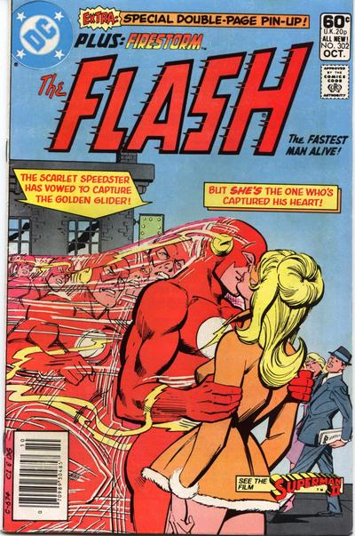 Cover for The Flash (DC, 1959 series) #302 [Direct Sales]