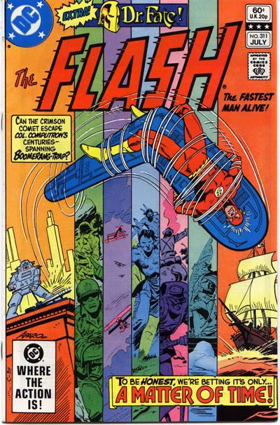 Cover for The Flash (DC, 1959 series) #311