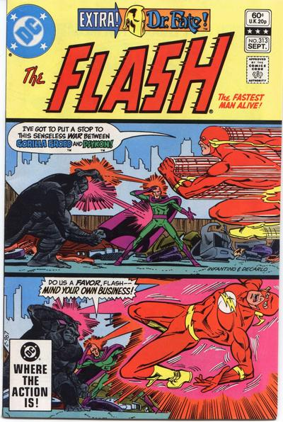 Cover for The Flash (DC, 1959 series) #313 [Direct Sales]