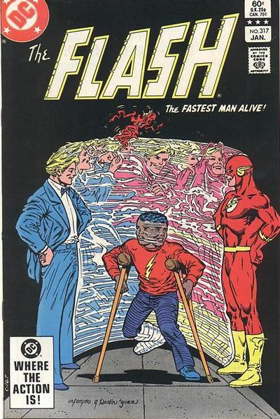 Cover for The Flash (DC, 1959 series) #317 [Canadian Price Variant]