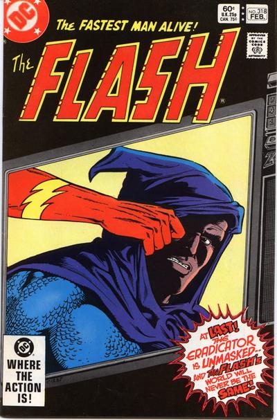 Cover for The Flash (DC, 1959 series) #318 [Direct-Sales]