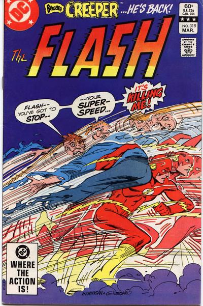 Cover for The Flash (DC, 1959 series) #319 [Newsstand]