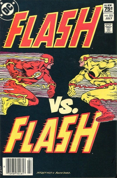 Cover for The Flash (DC, 1959 series) #323 [Direct Edition]