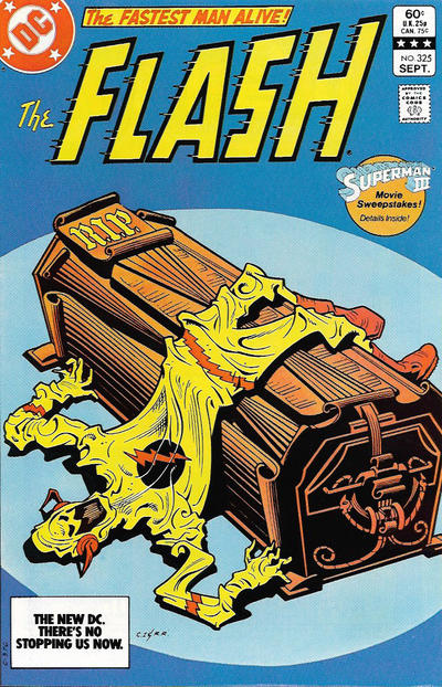 Cover for The Flash (DC, 1959 series) #325 [Newsstand Edition]