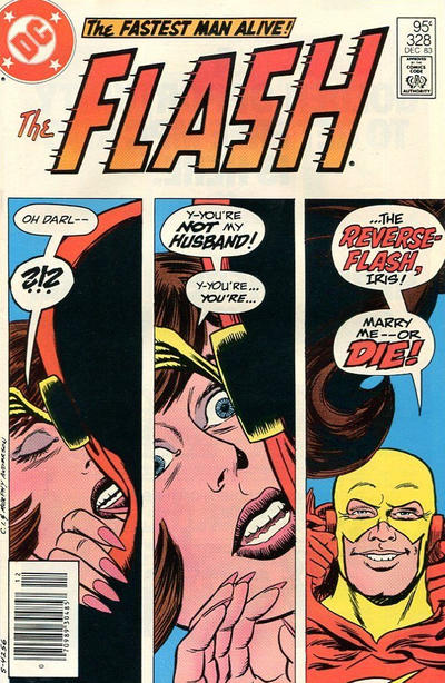 Cover for The Flash (DC, 1959 series) #328 [Direct-Sales]