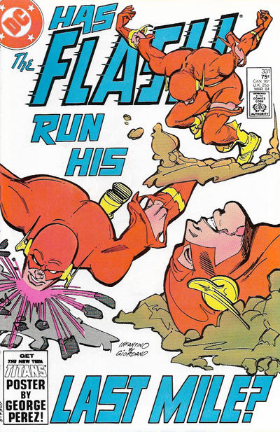 Cover for The Flash (DC, 1959 series) #331 [Direct]