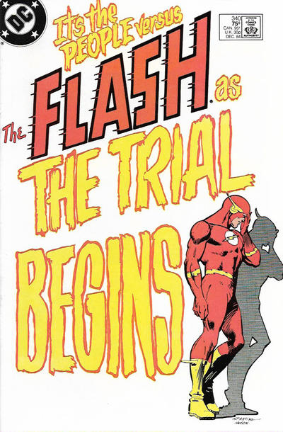 Cover for The Flash (DC, 1959 series) #340 [Direct-Sales Variant]