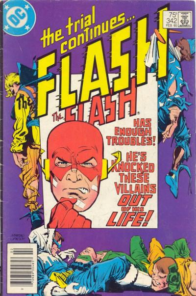 Cover for The Flash (DC, 1959 series) #342 [Direct]