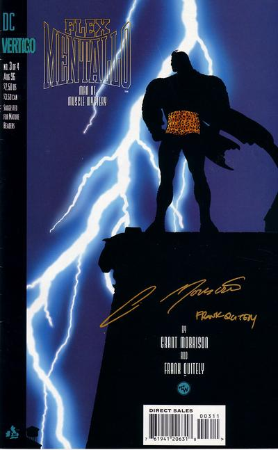 Cover for Flex Mentallo (DC, 1996 series) #3