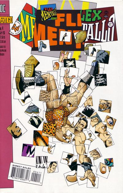 Cover for Flex Mentallo (DC, 1996 series) #4