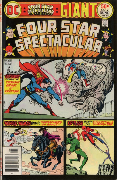 Cover for Four Star Spectacular (DC, 1976 series) #2