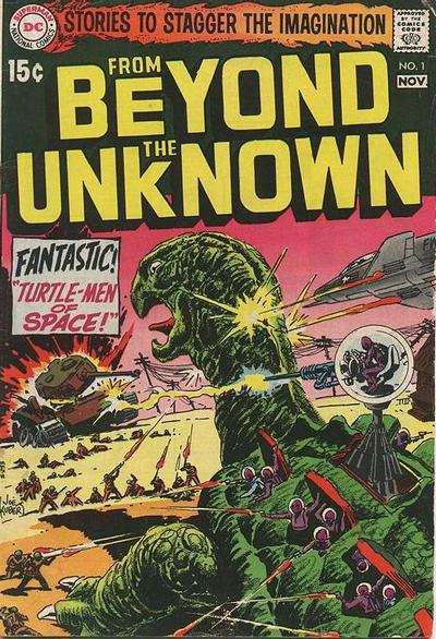 Cover for From Beyond the Unknown (DC, 1969 series) #1
