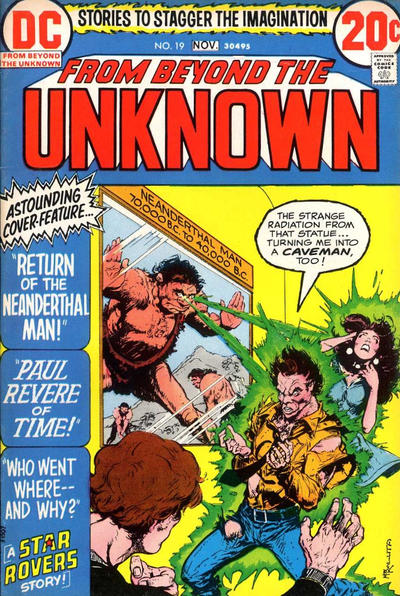 Cover for From Beyond the Unknown (DC, 1969 series) #19