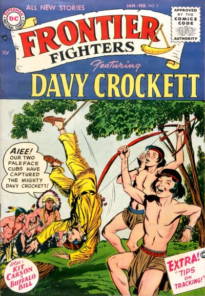 Cover for Frontier Fighters (DC, 1955 series) #3