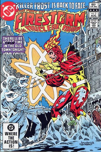 Cover for The Fury of Firestorm (DC, 1982 series) #3 [Newsstand]