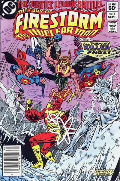 Cover for The Fury of Firestorm (DC, 1982 series) #4 [Direct Sales]