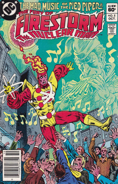 Cover for The Fury of Firestorm (DC, 1982 series) #5 [Direct Sales]