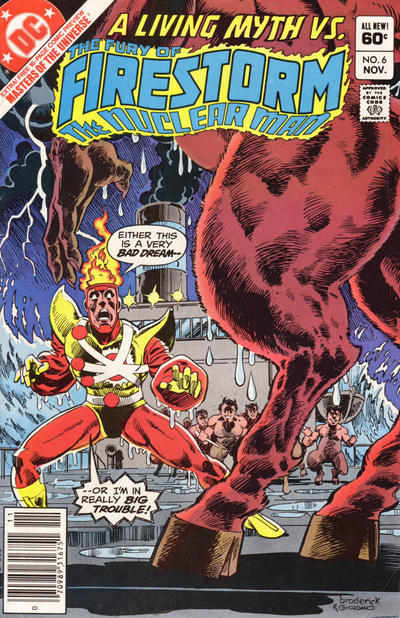 Cover for The Fury of Firestorm (DC, 1982 series) #6 [Direct Sales]