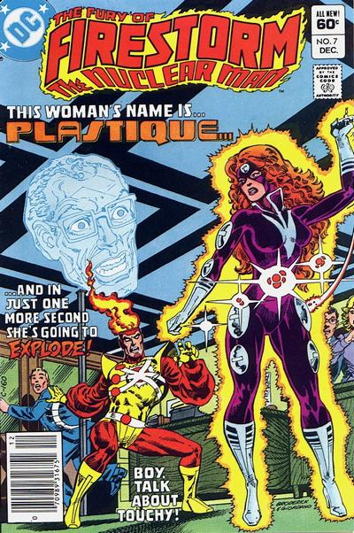 Cover for The Fury of Firestorm (DC, 1982 series) #7 [Canadian newsstand]