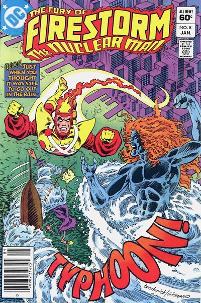 Cover for The Fury of Firestorm (DC, 1982 series) #8 [Direct Sales]