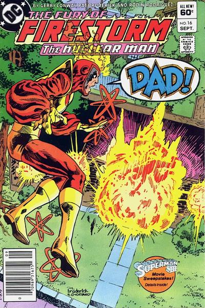 Cover for The Fury of Firestorm (DC, 1982 series) #16 [Direct-Sales]