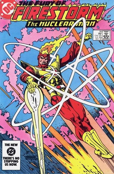 Cover for The Fury of Firestorm (DC, 1982 series) #30 [Newsstand]