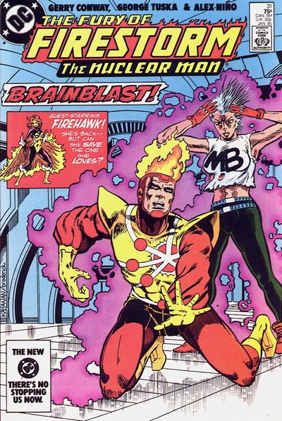 Cover for The Fury of Firestorm (DC, 1982 series) #31 [Direct-Sales Variant]