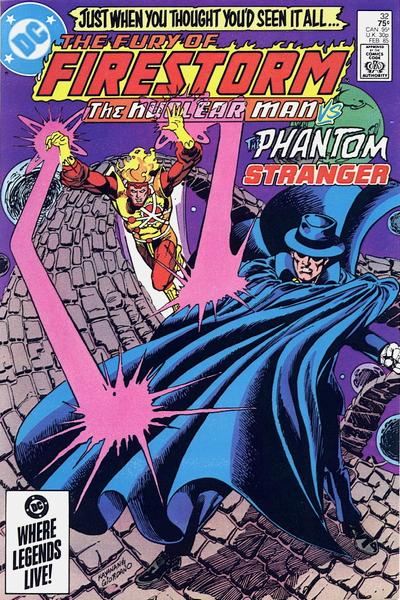 Cover for The Fury of Firestorm (DC, 1982 series) #32 [Direct Sales]