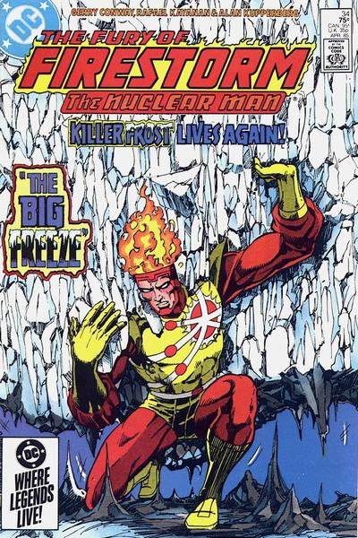 Cover for The Fury of Firestorm (DC, 1982 series) #34 [Direct]