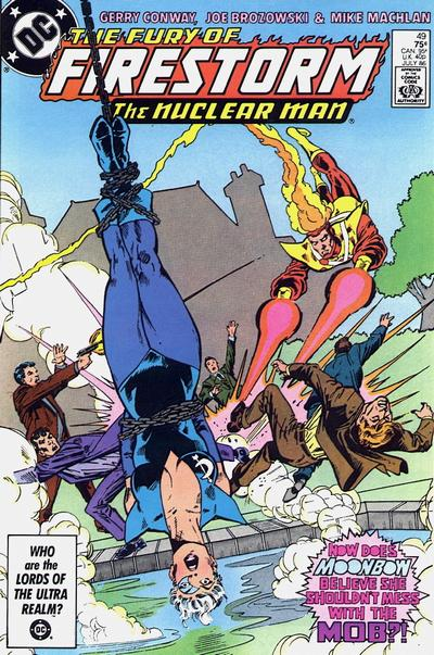 Cover for The Fury of Firestorm (DC, 1982 series) #49 [Direct Sales]