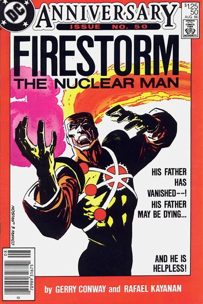 Cover for The Fury of Firestorm (DC, 1982 series) #50